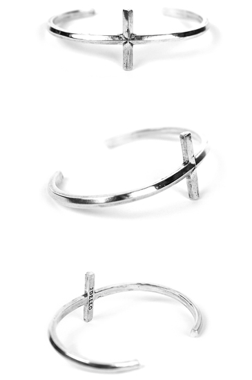 Cross cuff bracelet[premium-hand made]적극추천