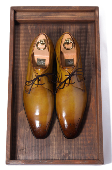 Take206 artisan dress shoes/light brown[premium.ver]