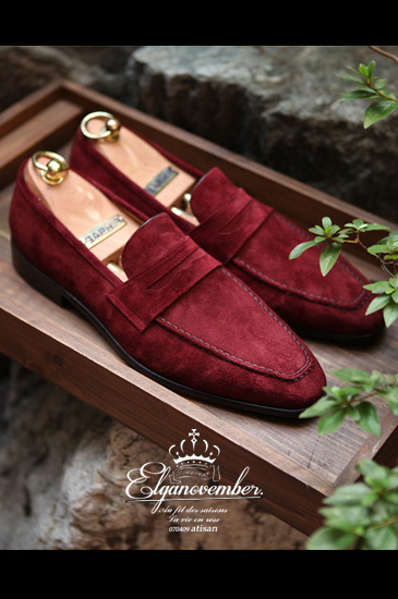 Take208 artisan loafer/wine[black label series]-정우성 협찬!