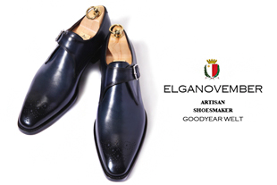 Elga edition take326 artisan goodyear welt shoes/dark navy[black label series. goodyear welt -premium.ver-ELGA made]-적극추천