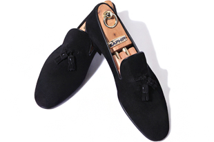Elga edition take344 artisan slipper suede shoes/black[black label series bologna ver.-elga made]-적극추천