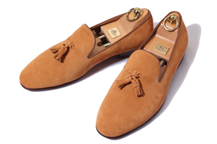Take361 artisan slipper suede shoes/yellow ocher[germany calf- bologna ver]-적극추천