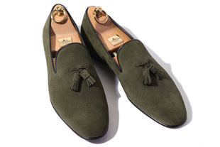 Take363 artisan slipper suede shoes/khaki[germany calf-bologna.ver]-적극추천