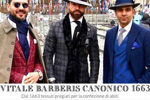 Edition take368 italy Pied de poulle canonico suit/charcoal[black label series.V.B.C tartan check ver.-limited edition]-ITALY CANONICO-품절임박!