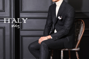 Take392 Italy  V.B.C 1663  flannel suit/charcoal[Italy series.-limited edition]-적극추천!-소량 한정모델!-품절임박!!