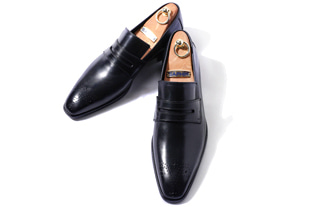Take400 artisan penny loafer/black[italy calf-bologna.ver]-적극추천!-한정판!