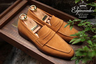 Elga edition take212 artisan loafer/yellow ocher[black label series bologna.ver-elga made]-적극추천!