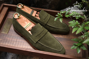 Elga edition take216 artisan loafer/khaki[black label series bologna.ver-elga made]적극추천!